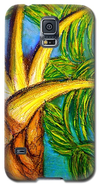 Galaxy S5 Case featuring the drawing Roatan Revel by D Renee Wilson