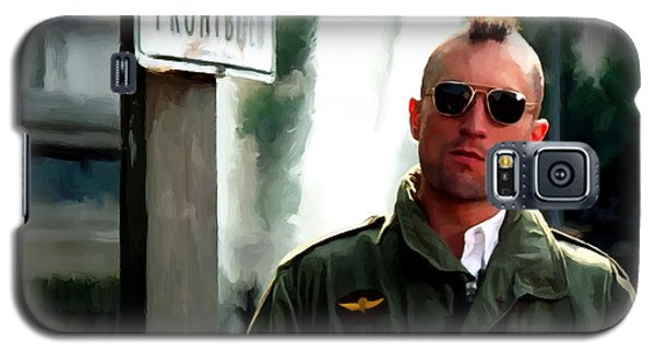 Robert De Niro In The Film Taxi Driver - Martin Scorsese 1976 Galaxy S5 Case