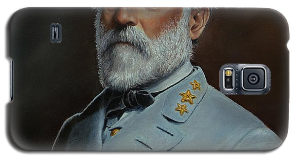 Galaxy S5 Case featuring the painting Robert E. Lee by Glenn Beasley