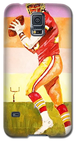 Galaxy S5 Case featuring the painting Robert Griffin Lll by Al Brown