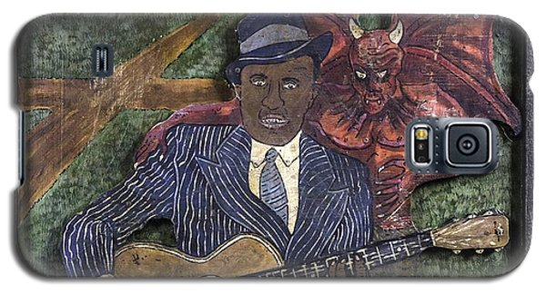 Robert Johnson At The Crossroads Galaxy S5 Case by Eric Cunningham
