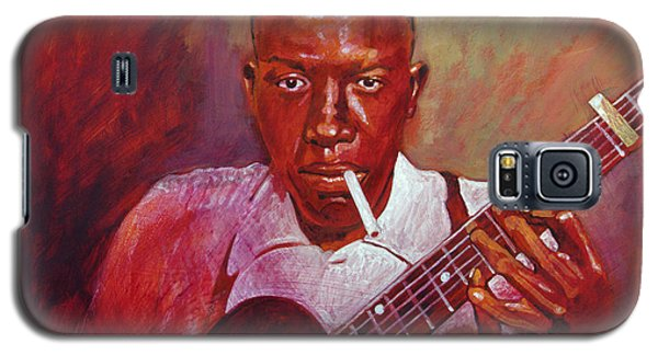 Robert Johnson Photo Booth Portrait Galaxy S5 Case