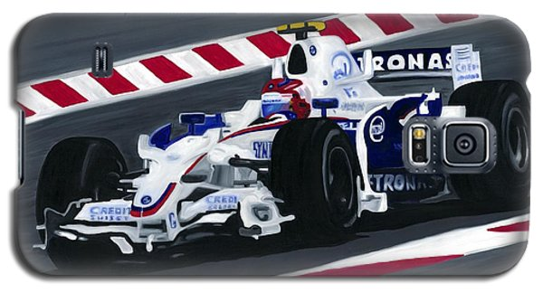 Robert Kubica Wins F1 Canadian Grand Prix 2008  Galaxy S5 Case