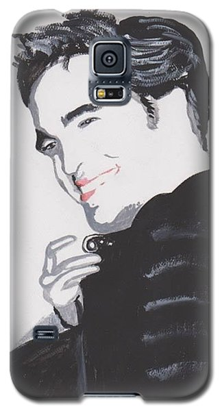 Robert Pattinso 140 A Galaxy S5 Case by Audrey Pollitt