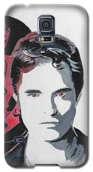 Robert Pattinson 134a Galaxy S5 Case by Audrey Pollitt