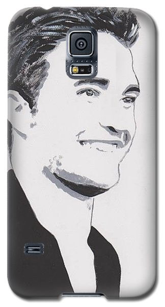 Galaxy S5 Case featuring the painting Robert Pattinson 139 A by Audrey Pollitt