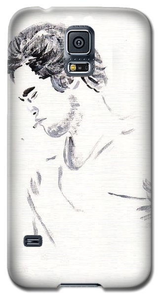 Robert Pattinson 147 Galaxy S5 Case by Audrey Pollitt