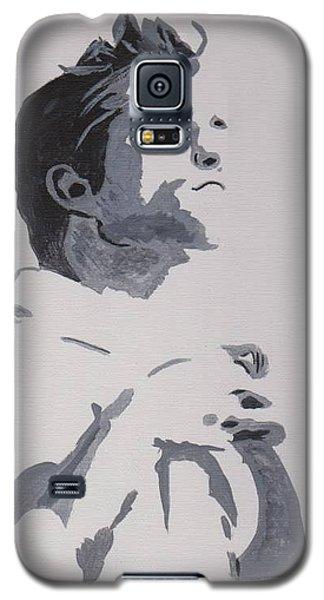 Galaxy S5 Case featuring the painting Robert Pattinson 148 by Audrey Pollitt