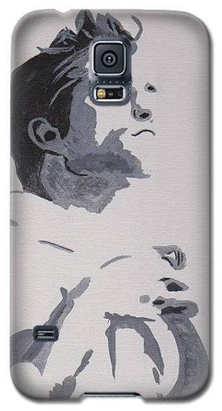 Robert Pattinson 148 Galaxy S5 Case by Audrey Pollitt