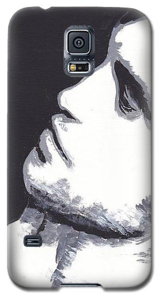 Galaxy S5 Case featuring the painting Robert Pattinson 4 Jen by Audrey Pollitt
