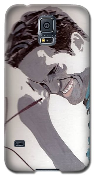 Robert Pattinson 48a Galaxy S5 Case by Audrey Pollitt