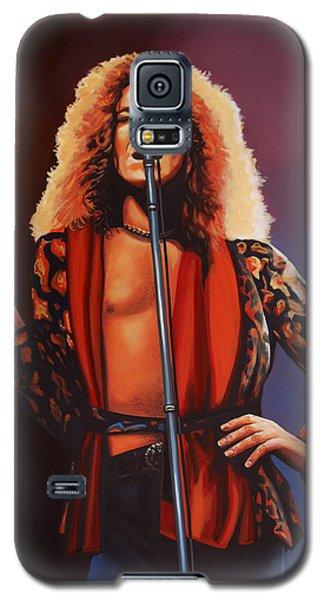 Robert Plant Of Led Zeppelin Galaxy S5 Case by Paul Meijering