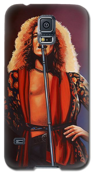 Robert Plant 2 Galaxy S5 Case by Paul Meijering