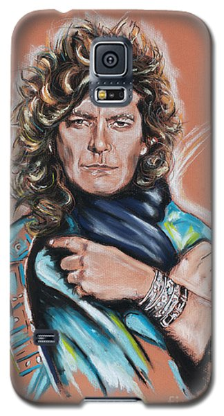 Robert Plant Galaxy S5 Case by Melanie D