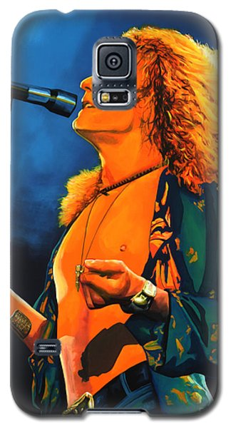 Robert Plant Galaxy S5 Case by Paul Meijering