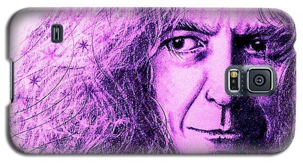 Robert Plant Purple Galaxy S5 Case by Patrice Torrillo