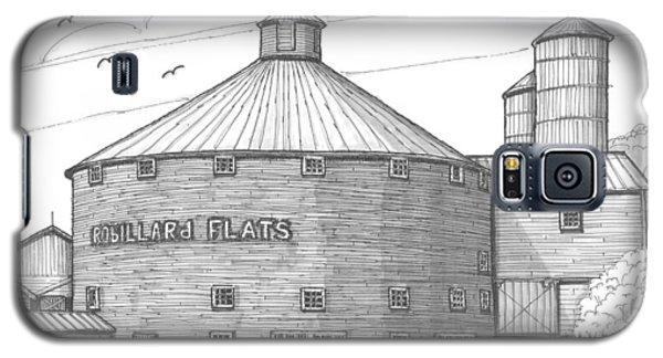 Robillard Flats Round Barn Galaxy S5 Case