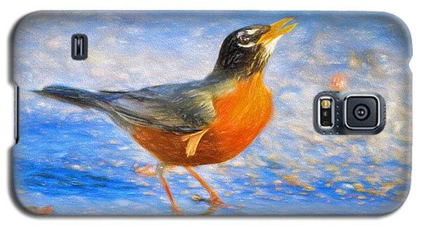 Robin In Florida Galaxy S5 Case