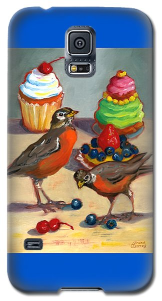 Robins And Desserts Galaxy S5 Case by Susan Thomas