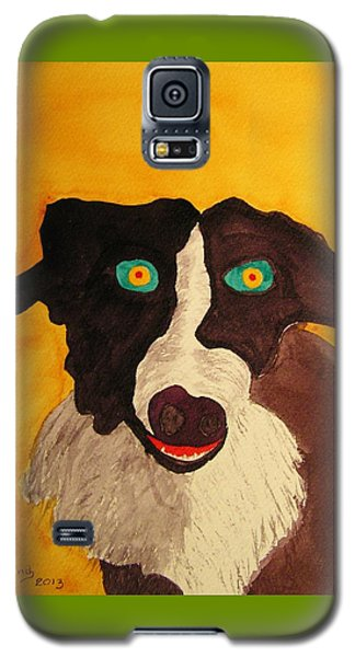 Galaxy S5 Case featuring the painting The Storyteller by Rand Swift