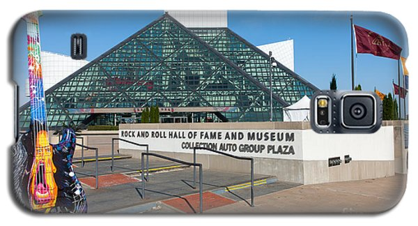 Rock And Roll Hall Of Fame IIi Galaxy S5 Case by Clarence Holmes