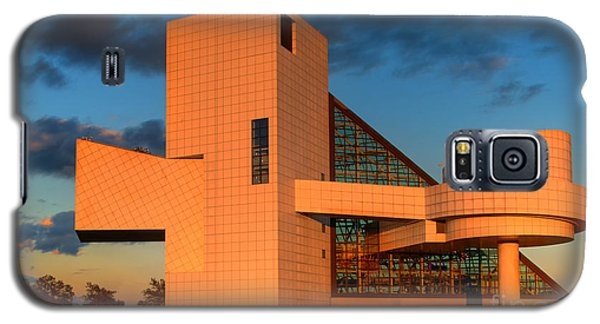 Galaxy S5 Case featuring the photograph Rock And Roll Hall Of Fame by Jerry Fornarotto