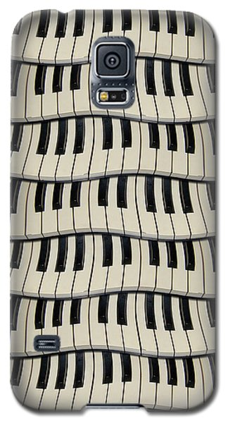 Rock And Roll Piano Keys Galaxy S5 Case by Phil Perkins