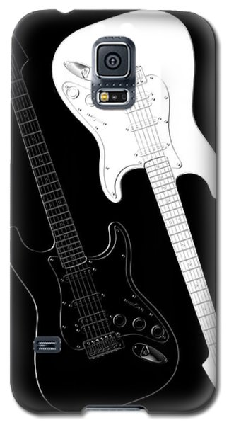 Rock And Roll Yin Yang Galaxy S5 Case by Mike McGlothlen