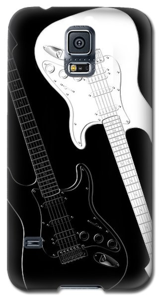 Music Galaxy S5 Case - Rock And Roll Yin Yang by Mike McGlothlen