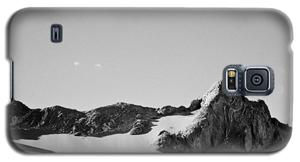 Galaxy S5 Case featuring the photograph Rock And Sand by Lana Enderle