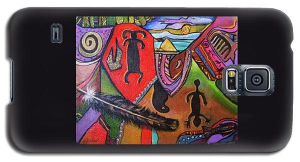 Rock Art Of Nevada Galaxy S5 Case