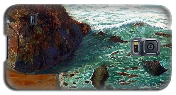 Rock Beach And Sea Galaxy S5 Case