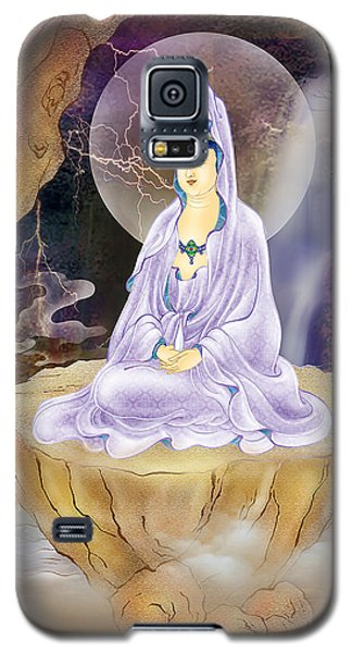 Galaxy S5 Case featuring the photograph Rock Cave Avalokitesvara  by Lanjee Chee