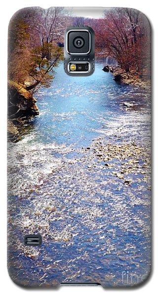 Galaxy S5 Case featuring the photograph Rock Creek Illinois by Brigitte Emme