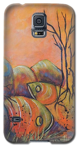 Rock Fishing Galaxy S5 Case by Lyn Olsen