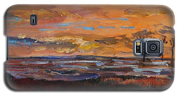 Rock Harbor Sunset Galaxy S5 Case