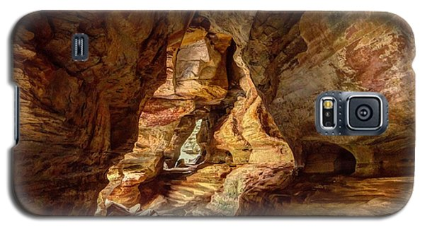 Rock House At Hocking Hills Oh Galaxy S5 Case