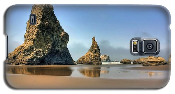 Galaxy S5 Case featuring the photograph Rock Reflections by Tyra  OBryant