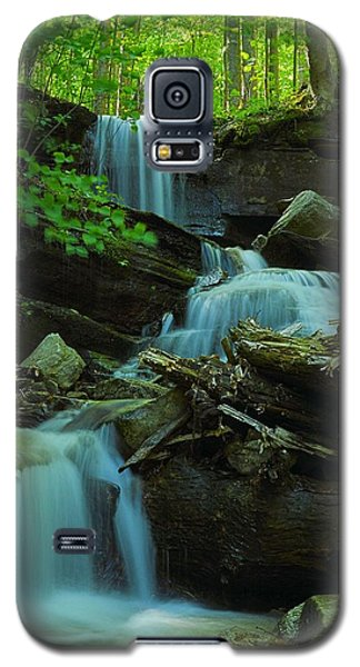 Rock Run Tributary Falls #2 Galaxy S5 Case