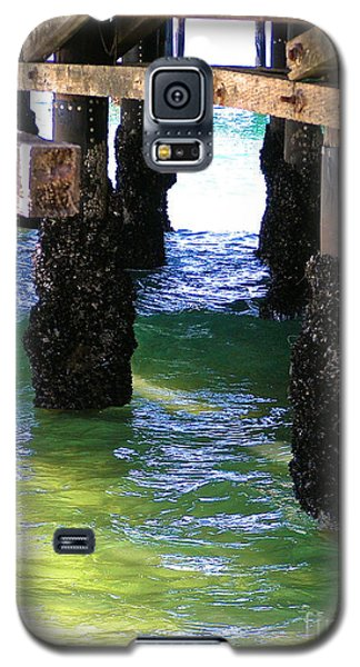 Galaxy S5 Case featuring the photograph Rock Solid by Margie Amberge