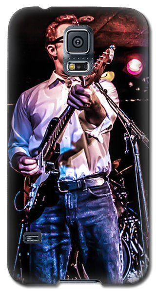 Rockabilly Cat Galaxy S5 Case by Ray Congrove