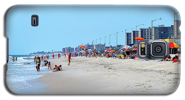 Rockaway Beach And Boardwalk Summer 2012 Galaxy S5 Case