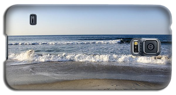 Rockaway Beach Morning Shoreline Galaxy S5 Case