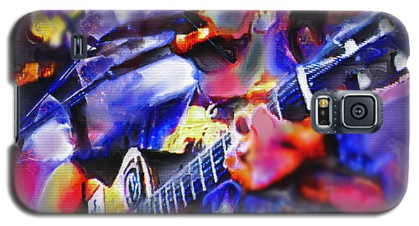Galaxy S5 Case featuring the painting Rocker by Ted Azriel
