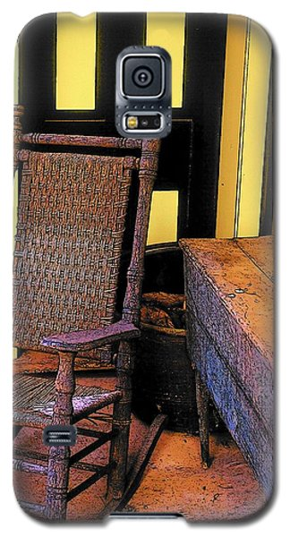 Rocking Chair And Woodbox Galaxy S5 Case