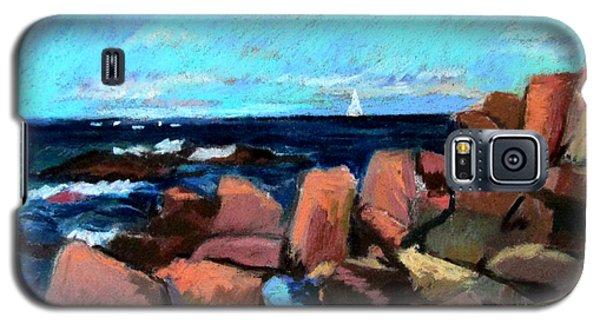 Rocks At Ogunquit Galaxy S5 Case