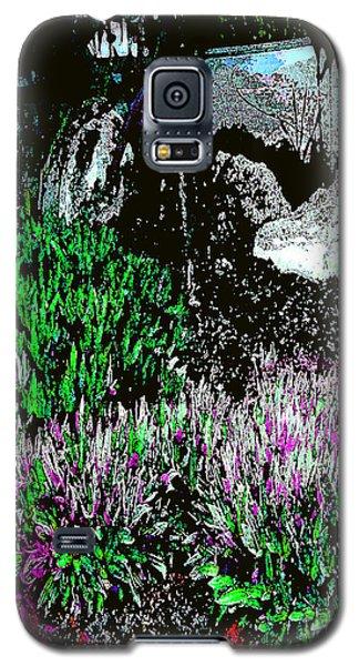 Galaxy S5 Case featuring the photograph Rocks In The Garden by Merton Allen