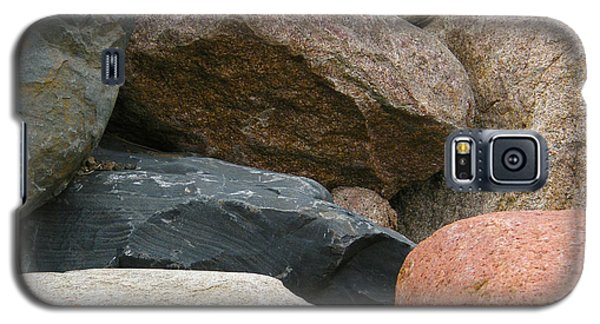 Rocks In Various Colors Galaxy S5 Case