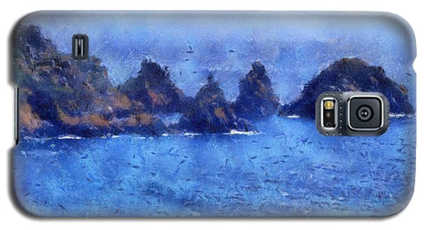 Rocks On Isle Of Guernsey Galaxy S5 Case