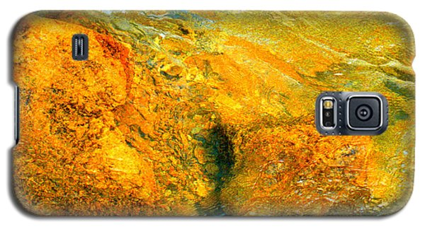 Rocks Under The Stream By Christopher Shellhammer Galaxy S5 Case